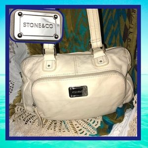Stone & Co. Beige Shoulder Bag USED CONDITION